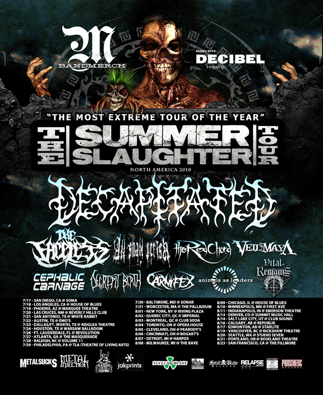 Summer Slaughter Tour How Long Is Concert