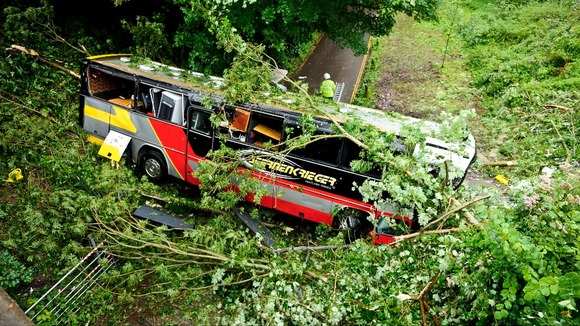 Baroness bus crash