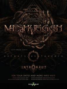 Meshuggah, Animals as Leaders, Intronaut