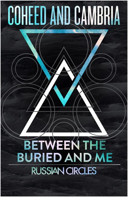 photos coheed and cambria between the buried and me and russian circles march 11th and 12th. Black Bedroom Furniture Sets. Home Design Ideas