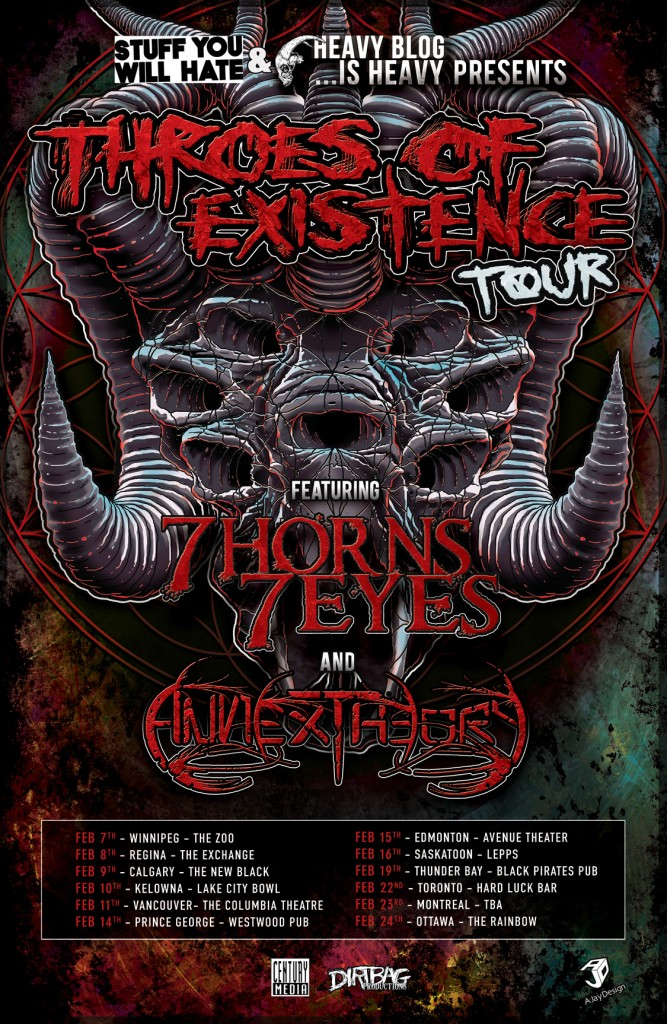 Throes of Existence Tour