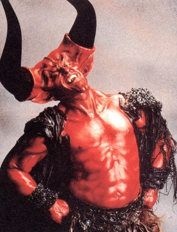 Tim Curry's Satan