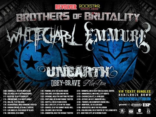 Brothers in Brutality --- Whitechapel and Emmure
