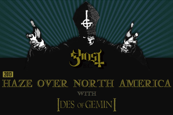 Ghost - Haze Over North America Tour