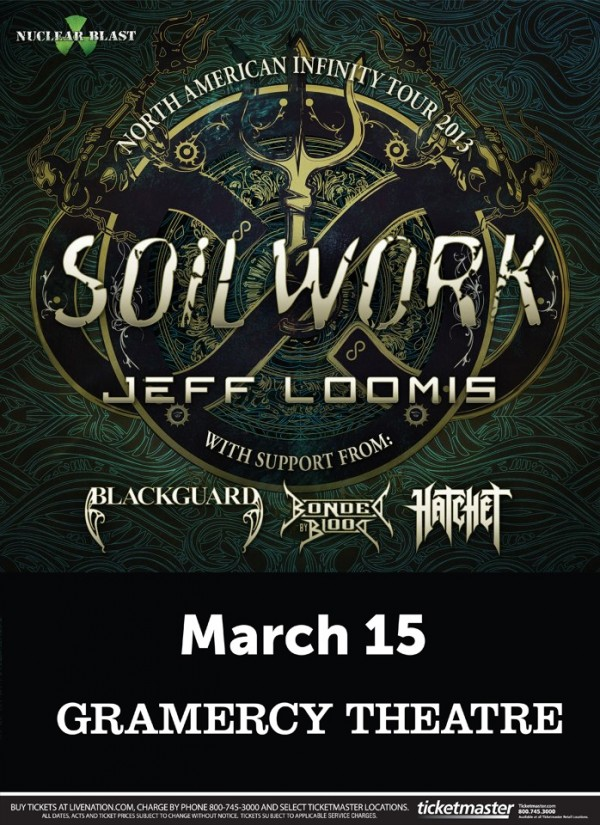 soilwork at gramercy