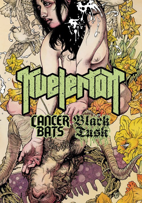 Kvelertak headlining US tour 2013