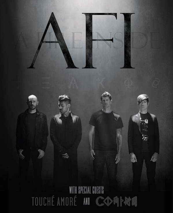 afi touche amore tour