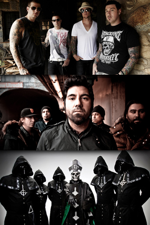 avenged deftones ghost