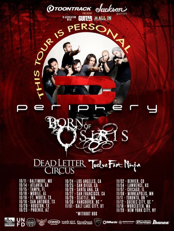 periphery - this tour is personal
