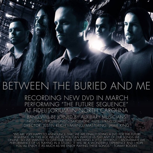 between the buried and me parallax dvd