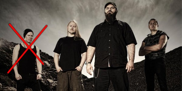 soreption bassist quits