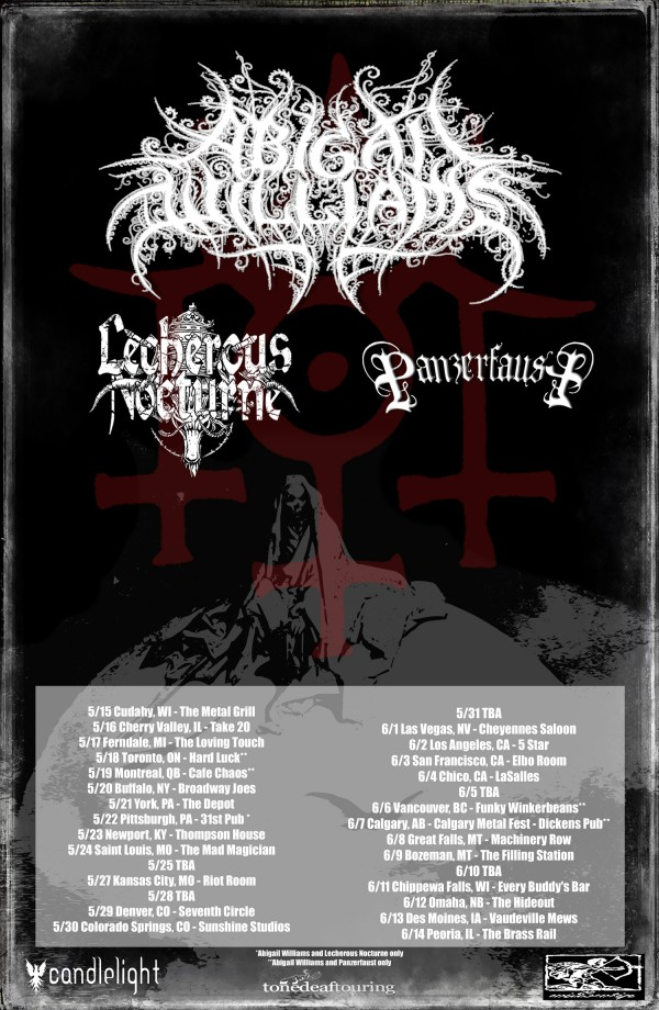 abigail williams tour 2014