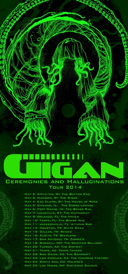 gigan 2014 tour