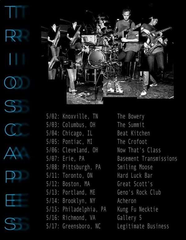 trioscapes tour 2014
