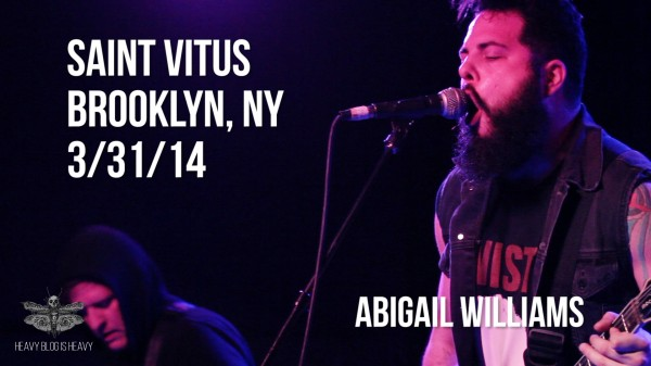 Abigail Williams Live Still