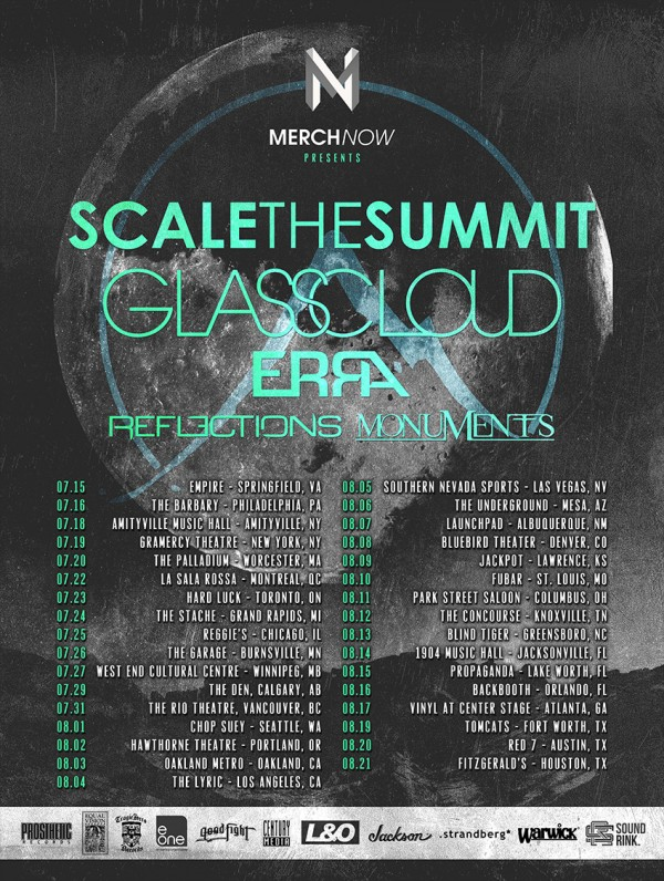 scale the summit glass cloud 2014 tour