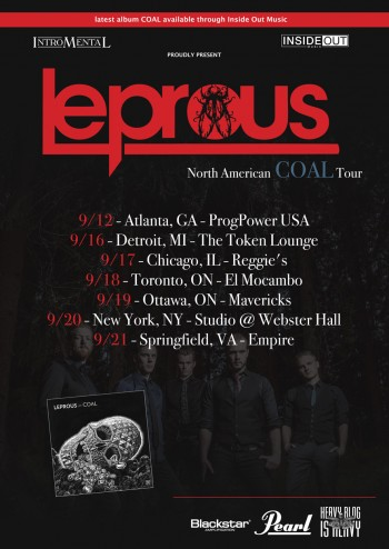 leprous poster