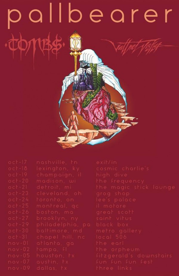 pallbearer us tour