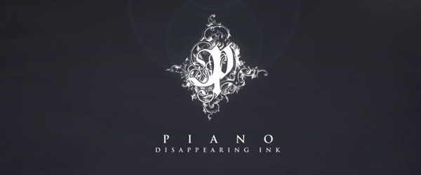 piano disappearing ink