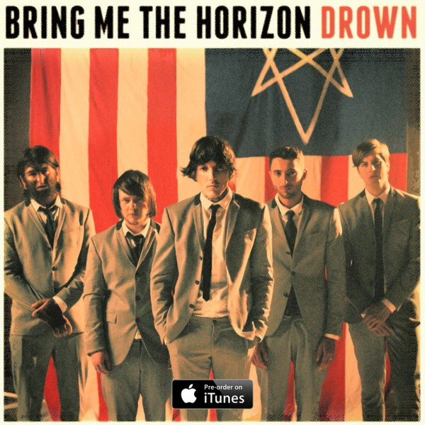 Bring Me the Horizon Drown single art