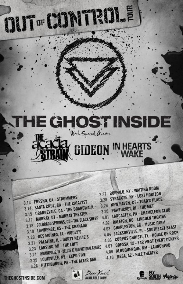the ghost inside tour