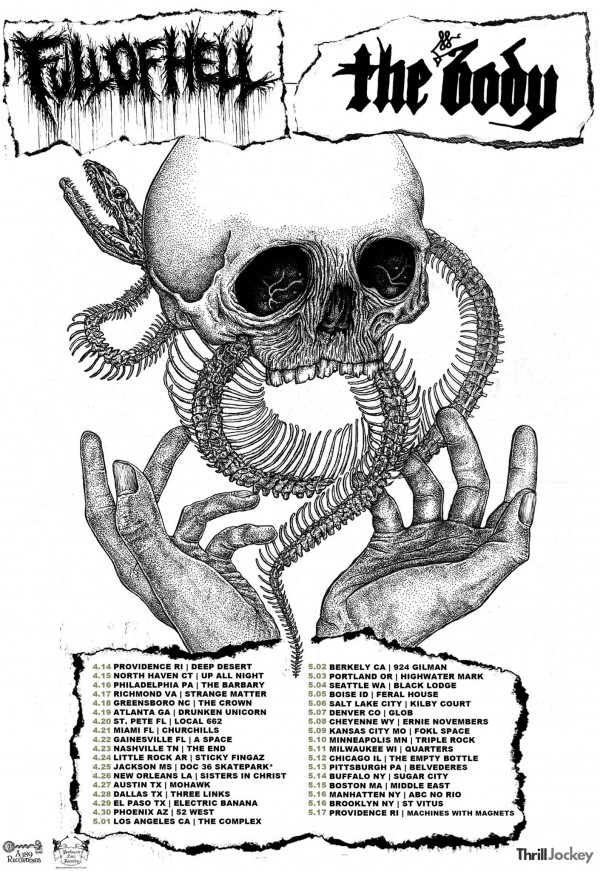 Full of Hell The Body Tour