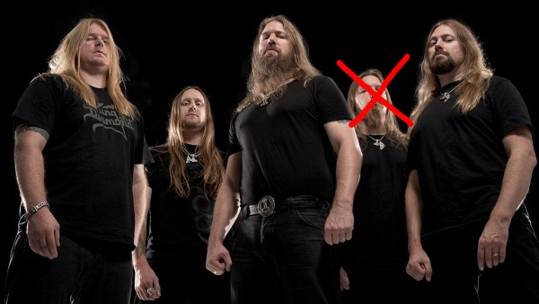 Amon Amarth no drummer