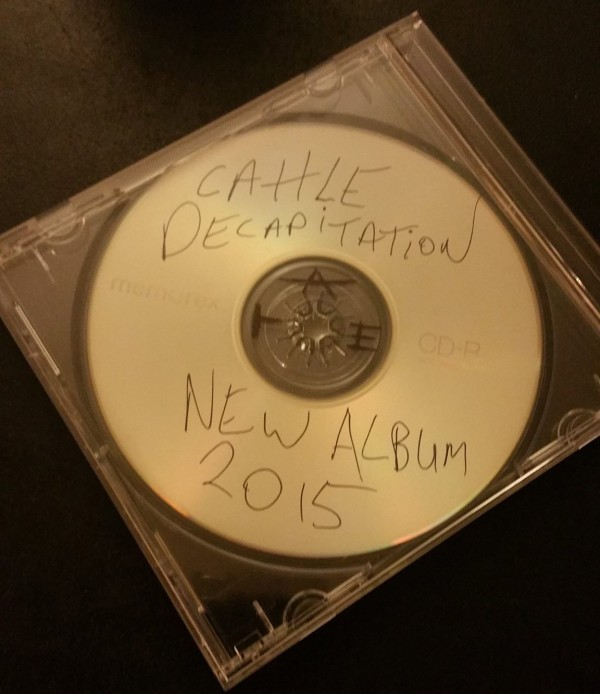 Cattle Decapitation - new album