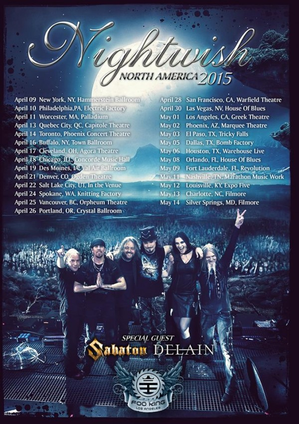 Nightwish-sabaton-delain-2015-tour