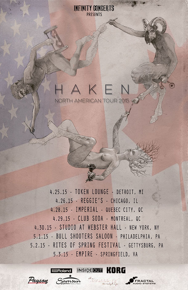 Haken Us Tour 2015 Poster Small Heavy Blog Is Heavy