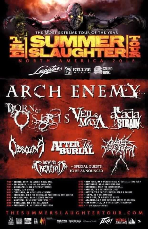 Summer Slaughter 2015
