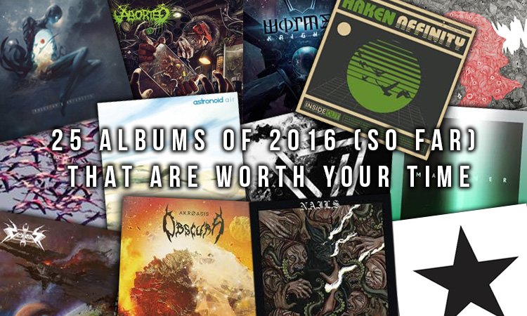 Heavy Blogs 25 Albums Of 2016 So Far That Are Worth Your Time