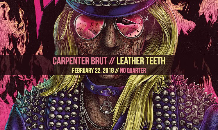 Carpenter Brut - Leather Teeth - Heavy Blog Is Heavy
